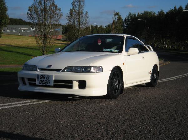 1998 championship white Integra Type-Rx