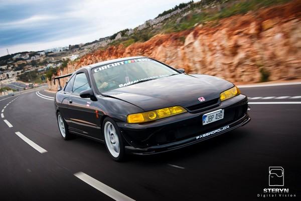 Starlight Black Pearl 1998 JDM Honda Integra Type-r in Malta