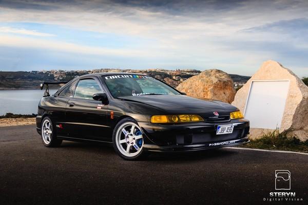 Starlight Black Pearl 1998 JDM Honda Integra Type-r scenic pic