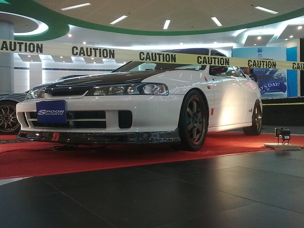 1998 JDM Honda Integra Type-R at a car show