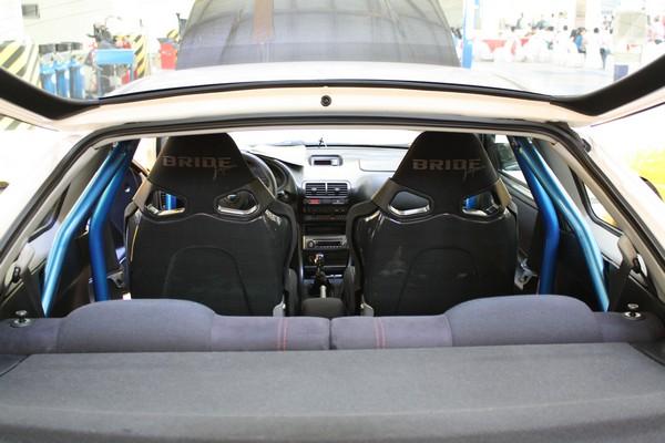 LHD 1998 JDM Honda ITR Bride seats