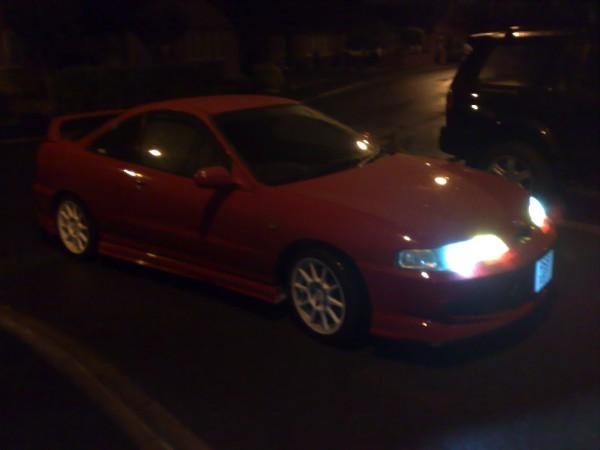 JDM Milano red Integra type r