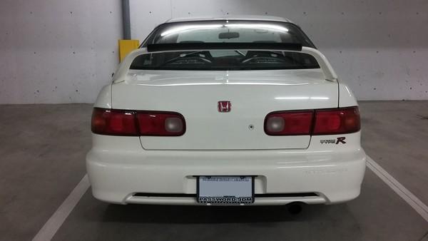 1999 JDM DB8 Honda Integra Type-R 4-door back end