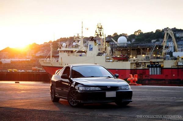 NBP 1999 JDM Honda Integra Type-R at shipyard
