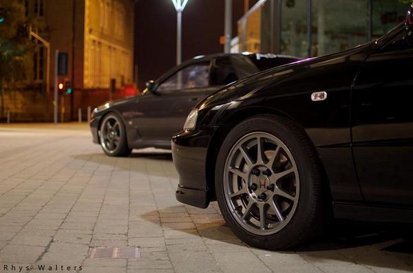 JDM Honda Integra Type-R Gunmetal wheels/rims