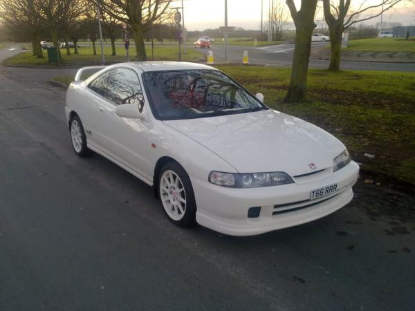 2000 JDM Honda Integra Type-Rx front end