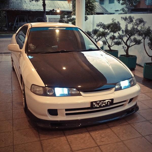 2000 JDM Honda Integra Type-Rx carbon fiber hood