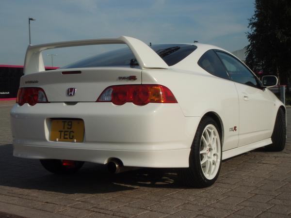 2001 JDM Integra Type R Championship white