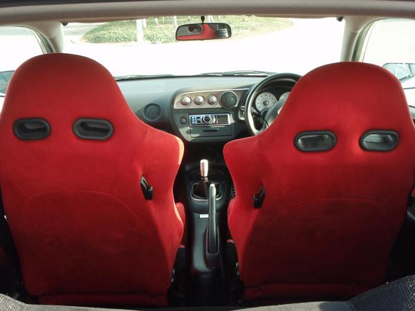 2001 Integra Type-R interior