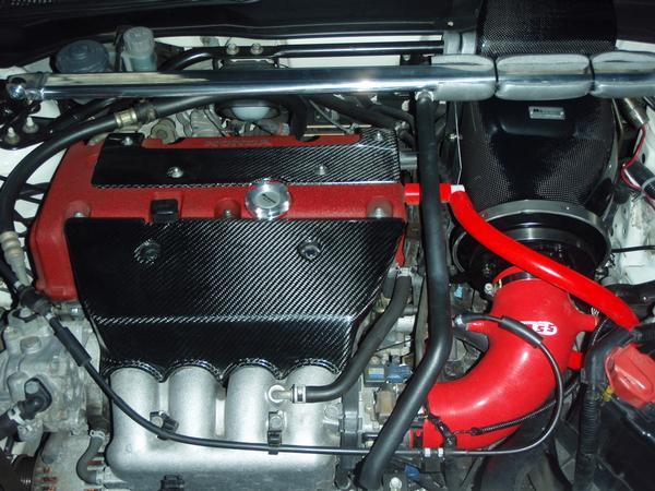 2001 Integra Type R K20A engine with carbon fiber