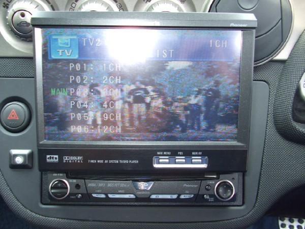 Flip out CD/DVD screen