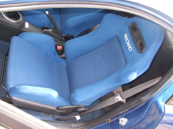 OEM DC5 Blue Recaro seats