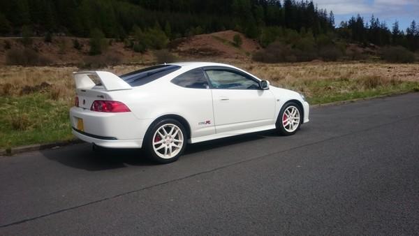2006 facelift Integra Type-R back end
