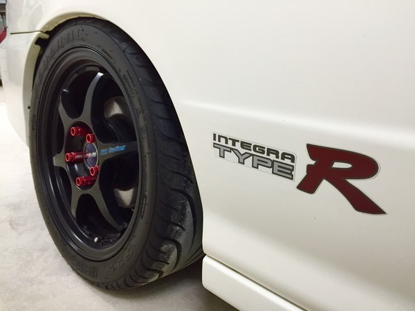 2000 JDM Honda Integra Type-Rx Buddy Club P1 Wheels