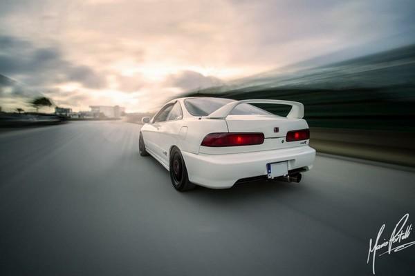 2000 JDM Honda Integra Type-Rx driving