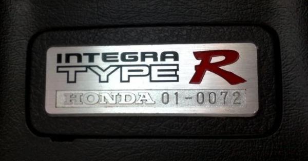 AUDM Honda Integra Type-R DC2 Interior badge