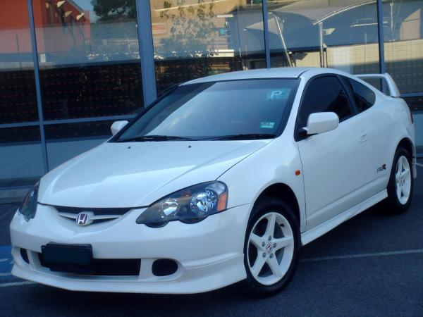 AUDM DC5 Honda Integra Type-R Championship white Wheels