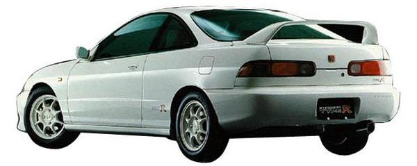 96-spec JDM Integra Type-R 2-door back End