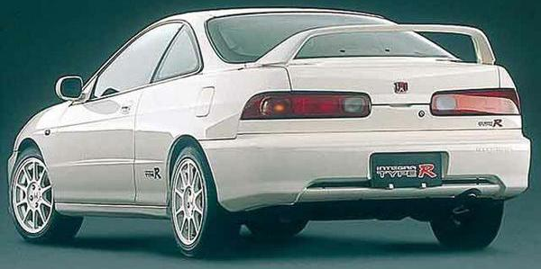 98-spec JDM Integra Type-R 2-door back End