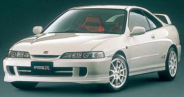 98-spec JDM Integra Type-R 2-door Front End