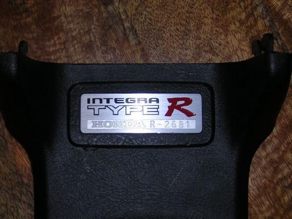JDM Integra Type-Rx DC2 interior badge
