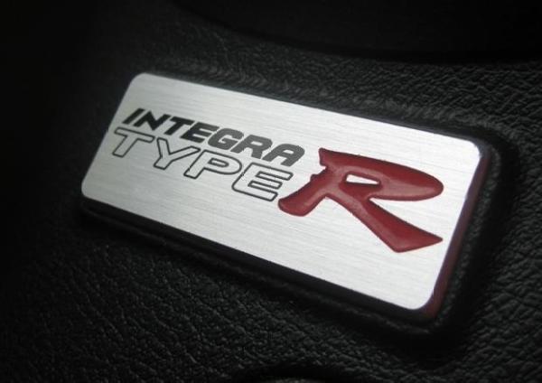 Integra Type-R DC5 interior badge