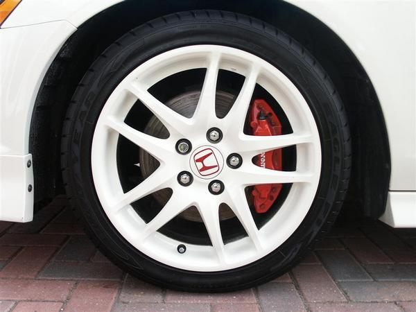 JDM DC5 Honda Integra Type-R white Wheels