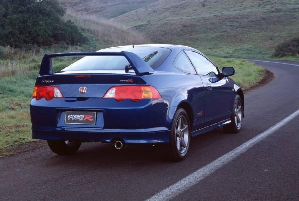 Australian 2002 Honda Integra Type-R Press Vehicle back end
