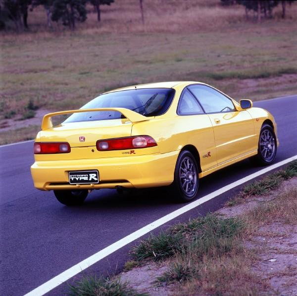Australian DC2 Honda Integra Type-R Press Vehicle back end