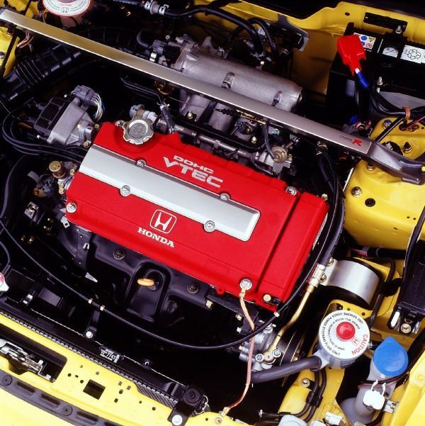 Australian DC2 Honda Integra Type-R Press Vehicle engine bay