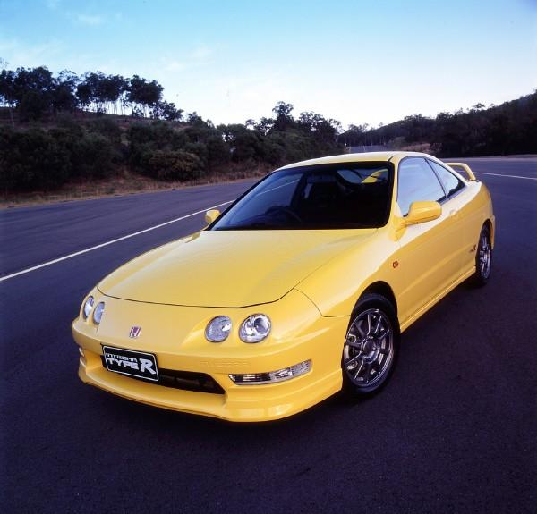 Australian DC2 Honda Integra Type-R Press Vehicle front end