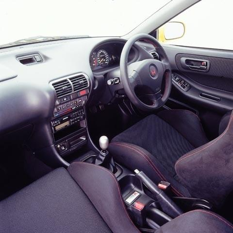 Australian DC2 Honda Integra Type-R Press Vehicle interior