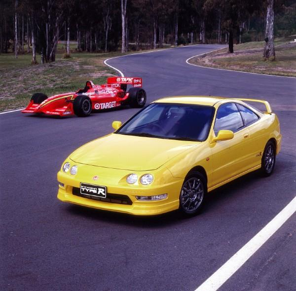 Australian DC2 Honda Integra Type-R Press Vehicle race heritage