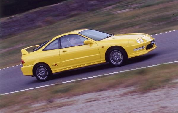 Australian DC2 Honda Integra Type-R Press Vehicle profiile