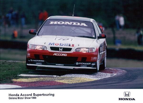 1998 Honda Accord Supertouring edition