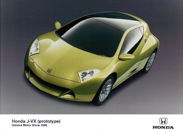 1998 Honda JVX Prototype Press Car Front