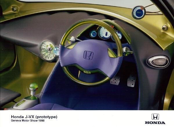 1998 Honda JVX Prototype Press Car Interior