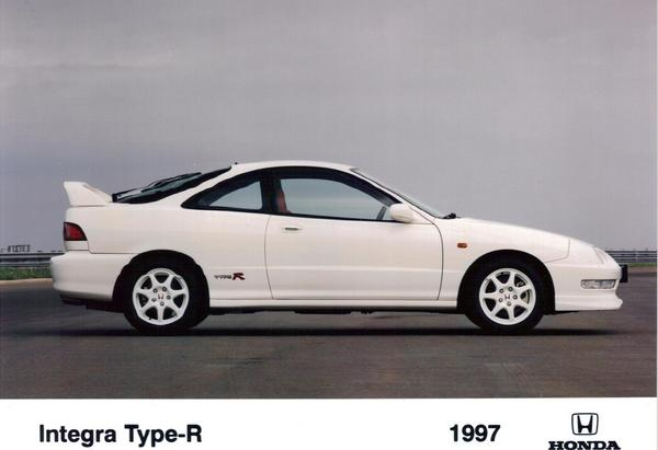 1997 Honda Integra Type-R Press Vehicle
