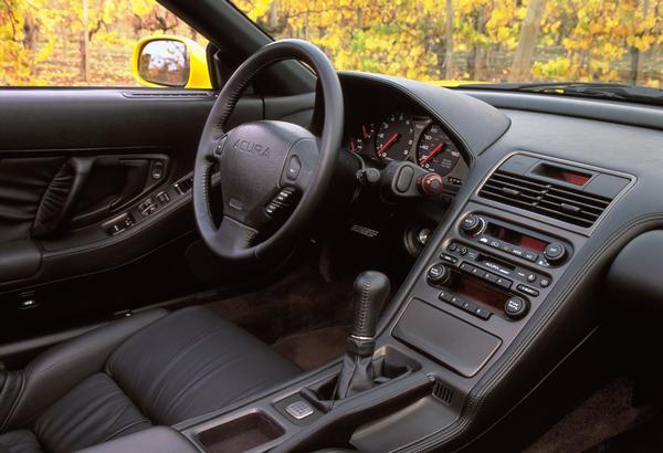 2000 Acura NSX-T Press vehicle Interior