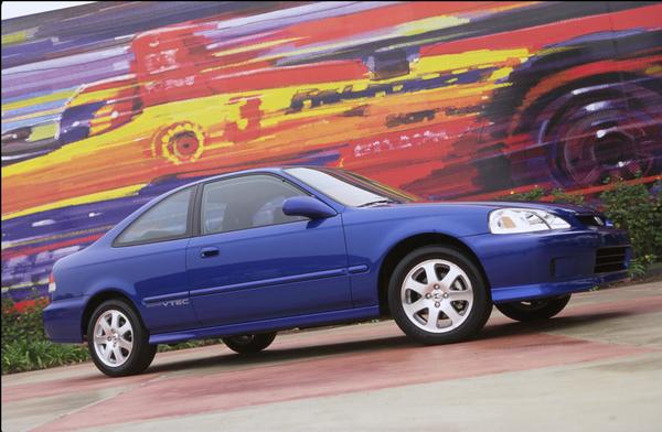 2000 Honda Civic SI Press vehicle