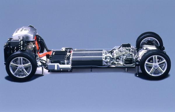 2000 Honda fcx Chassis