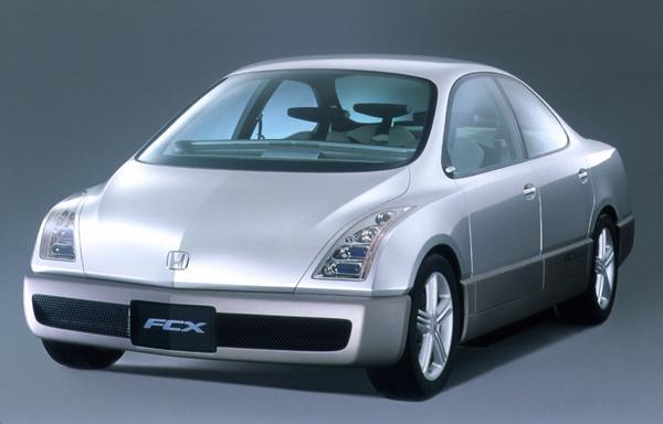 2000 Honda fcx front