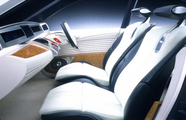 2000 Honda fcx interior