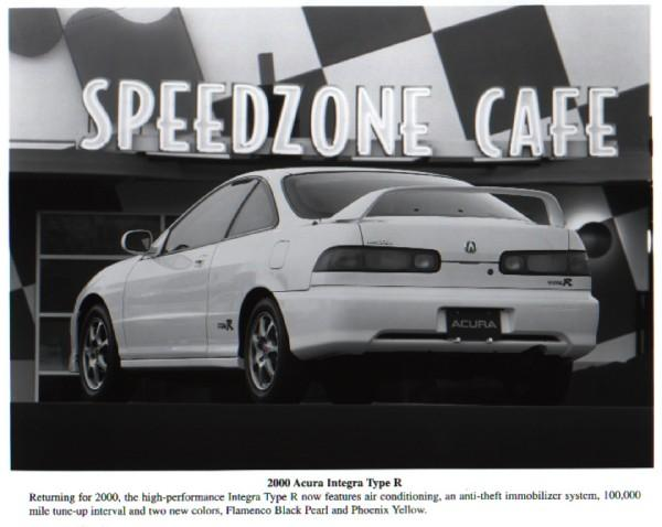 2000 Acura Integra Type-R Press Vehicle