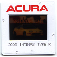 2000 Acura Integra Type-r press vehicle slides
