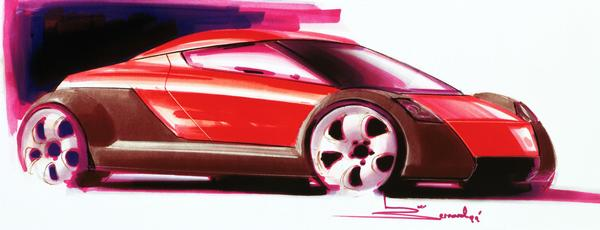 2000 Honda Spocket prototype drawing
