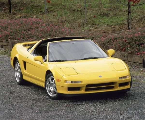 2001 Acura NSX-T Press vehicle front
