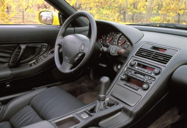 2001 Acura NSX-T Press vehicle interior