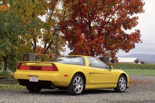 2001 Acura NSX-T Press vehicle back end