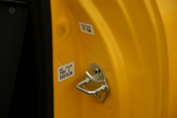 Switzerland ITR Phoneix Yellow color code doorjam